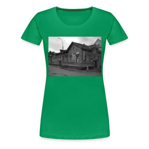 Aika on pysähtynyt Sortavalassa - Naisten premium t-paita