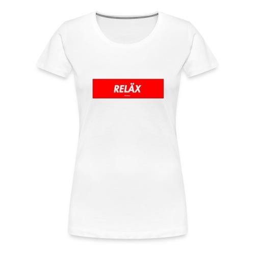 Reläx Logo - Frauen Premium T-Shirt