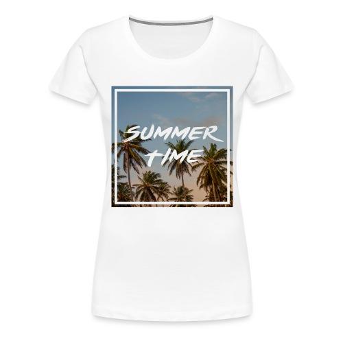 summertime - Frauen Premium T-Shirt