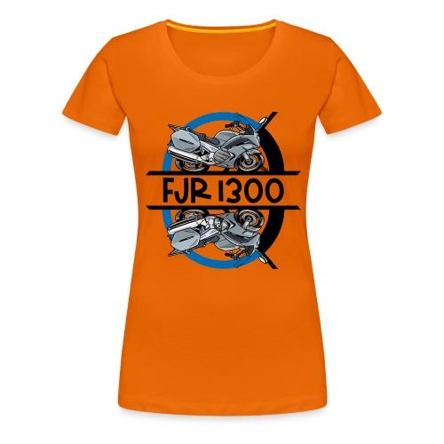 FJR RECHTS LINKS - Vrouwen Premium T-shirt
