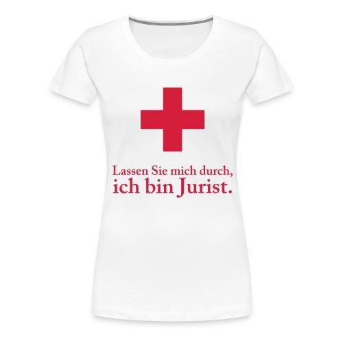 nofalljurist - Frauen Premium T-Shirt