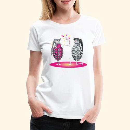 Grenade engagement - Women's Premium T-Shirt