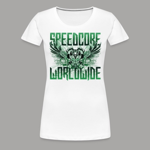 Mattia Travaglini - SCWW Green 3D - Frauen Premium T-Shirt