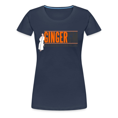 Ginger GM Logo - Women's Premium T-Shirt