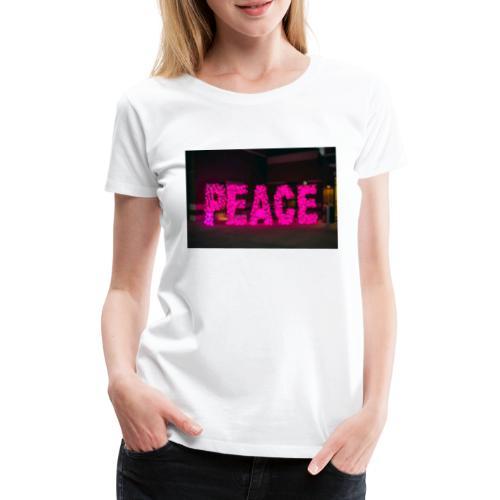 paz - Camiseta premium mujer