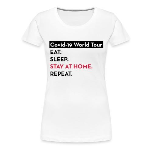 Covid-19 World Tour - T-shirt Premium Femme