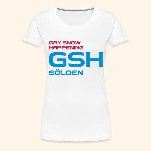 GSH_Logo_vector_hoch - Frauen Premium T-Shirt