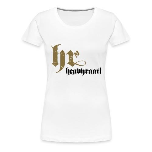 heavyraati 2 - Naisten premium t-paita