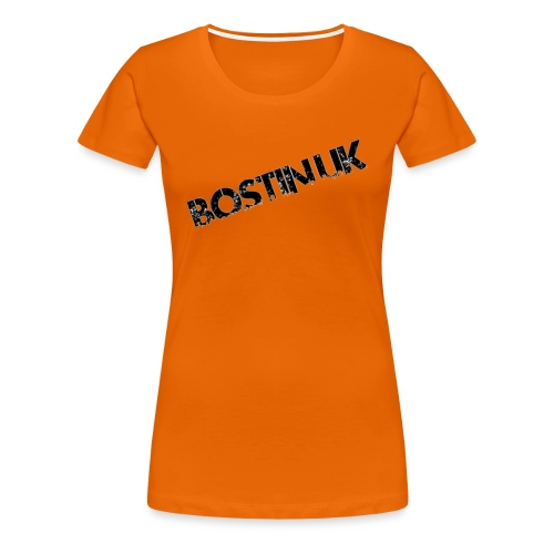 Bostin uk white - Women's Premium T-Shirt