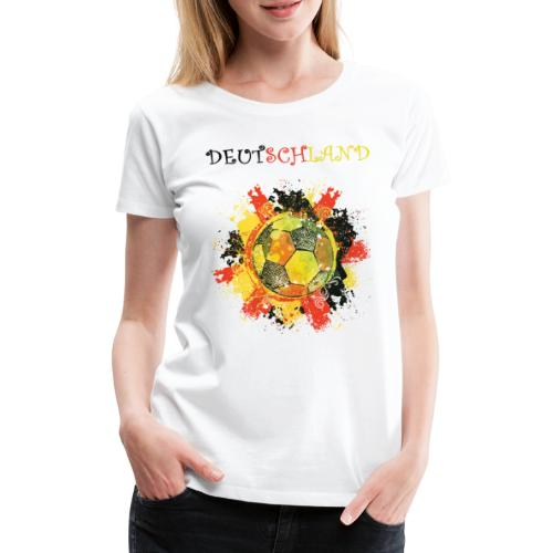 deutschland fanshirt 2018 - Frauen Premium T-Shirt