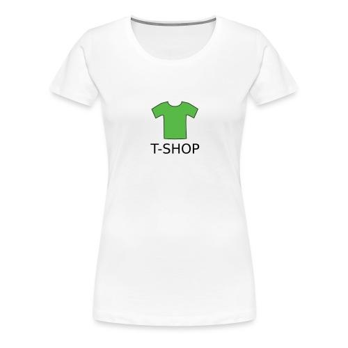 T-SHOP LOGO - Frauen Premium T-Shirt