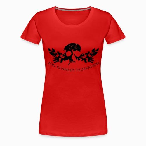 Jon Kennedy Federation Skull Logo 2 - Women's Premium T-Shirt