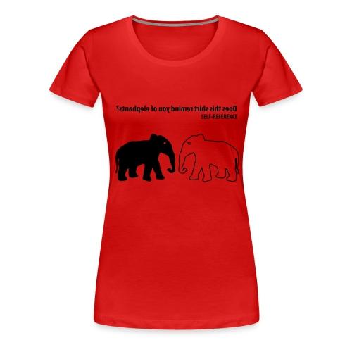 new selfreference - Vrouwen Premium T-shirt