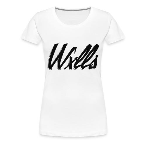 WxllsApparel #1 - Women's Premium T-Shirt
