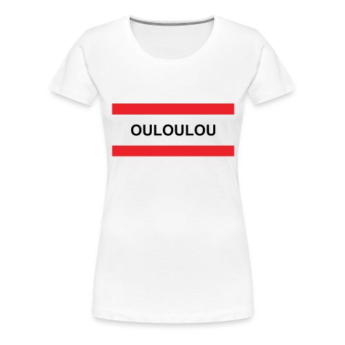 ouloulou rouge 01 jpg - T-shirt Premium Femme
