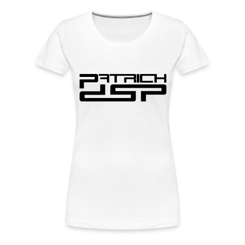 Patrick DSP Black Logo - Women's Premium T-Shirt