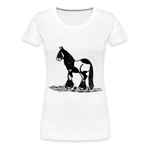 Pony, Schecke - Frauen Premium T-Shirt