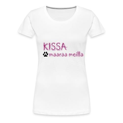 kissamaaraa - Naisten premium t-paita