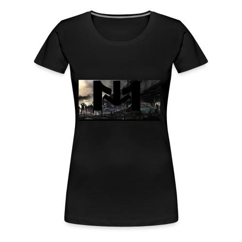 Mousta Zombie - T-shirt Premium Femme