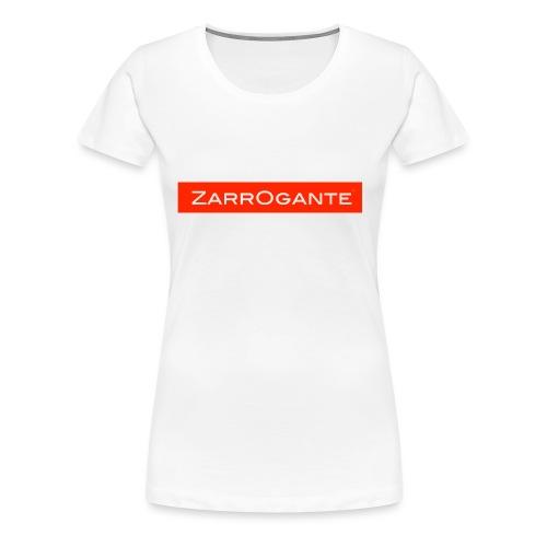 BasicLogoRed - Maglietta Premium da donna