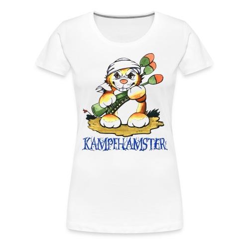kampfhamster - Frauen Premium T-Shirt