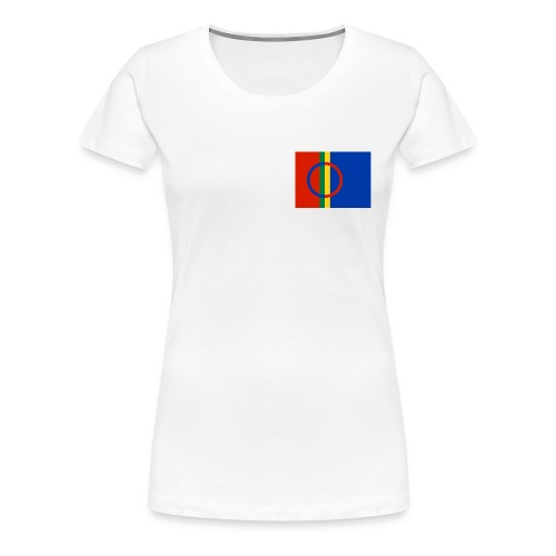 800pxsami flagsvg - Women's Premium T-Shirt