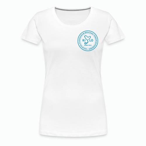 Rislo Logo - Naisten premium t-paita