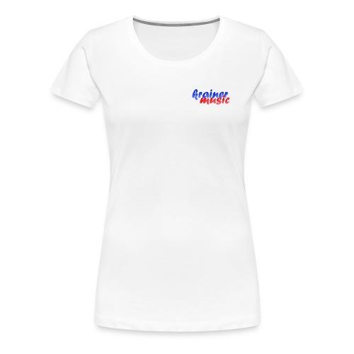 km druck spreadshirt 1450x1000 - Frauen Premium T-Shirt