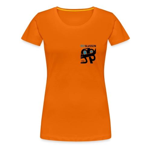 rivslussenblackblue resized for small - Premium-T-shirt dam