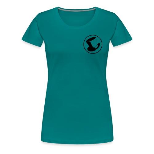 GLASS HAT - Camiseta premium mujer