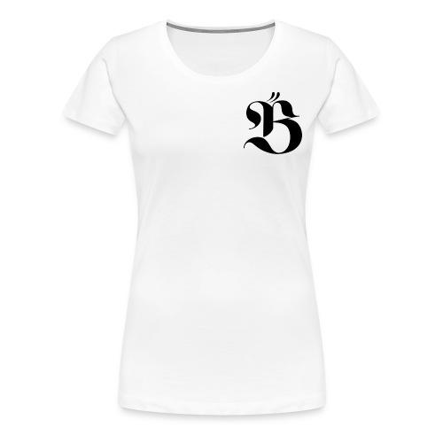B logo - Premium-T-shirt dam