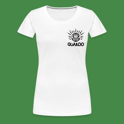 Quakoo Logo - Frauen Premium T-Shirt