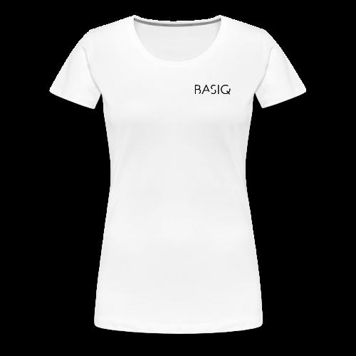 Basiq black - Frauen Premium T-Shirt