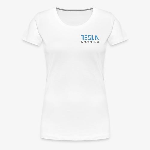 Teslasharing - denn Teslas soll man teilen - Frauen Premium T-Shirt