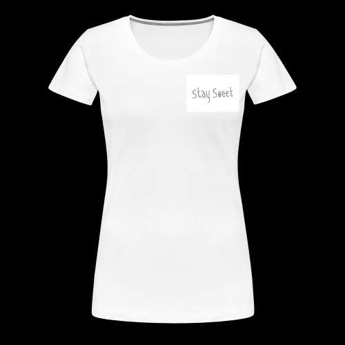 Cake sy LP Merch stay sweet - Frauen Premium T-Shirt