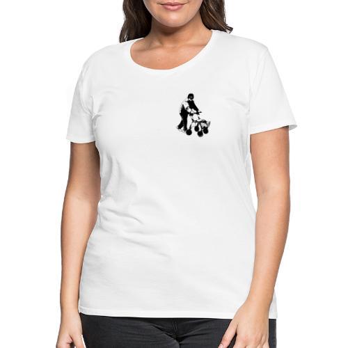 legend - Premium-T-shirt dam