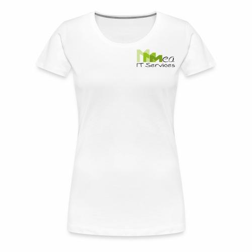 mea IT Services weiß - Frauen Premium T-Shirt