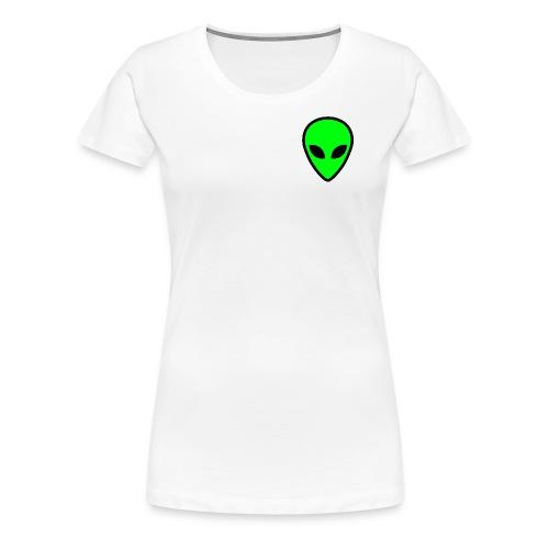 alien face 5 - Maglietta Premium da donna