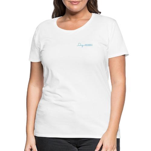 DP Logo Blue - Dame premium T-shirt