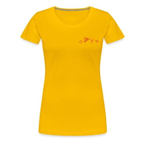 The stars above are watching (pocket) - Women's Premium T-Shirt