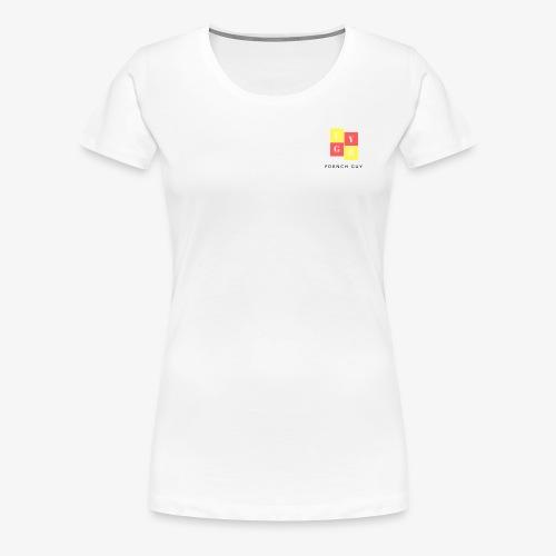 French Guy 1 - T-shirt Premium Femme