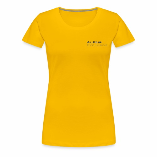 Au Pair Exclusive - Vrouwen Premium T-shirt
