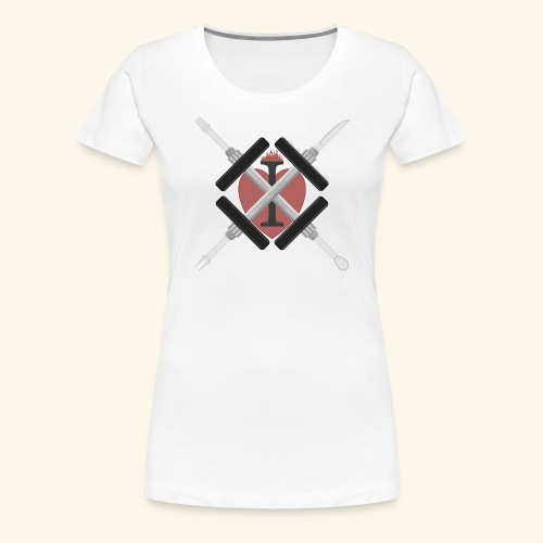 I Love Fitnessfood - Frauen Premium T-Shirt