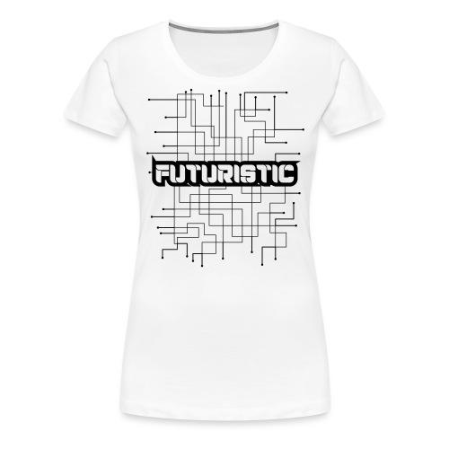 Futuristic - Vrouwen Premium T-shirt