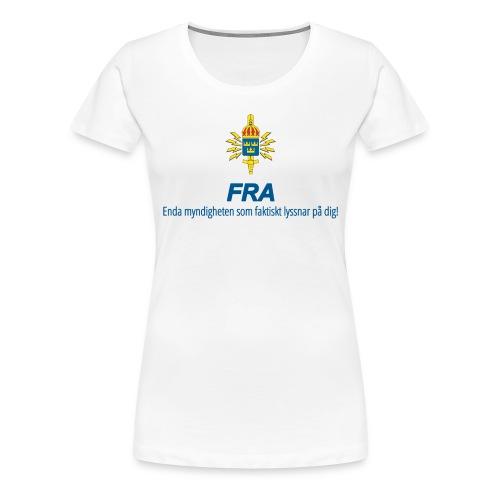 FRA png - Premium-T-shirt dam