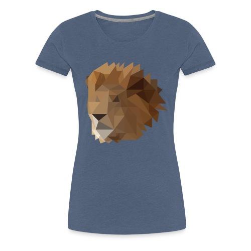 Löwe - Frauen Premium T-Shirt