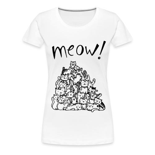 Meow! - Camiseta premium mujer