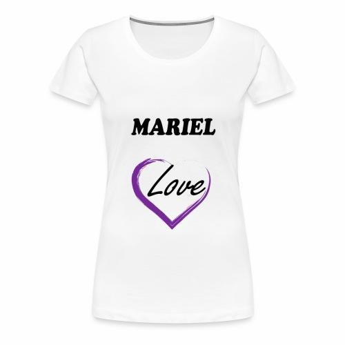 Mariel Love - Camiseta premium mujer
