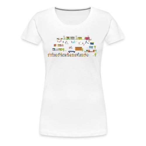 Changemaker-Village - Frauen Premium T-Shirt