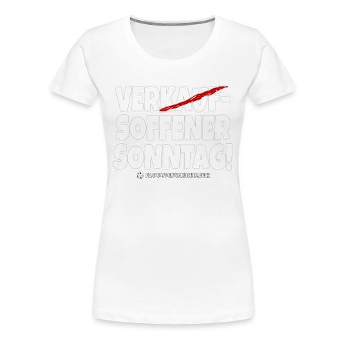 Shirt Sonntag png - Frauen Premium T-Shirt